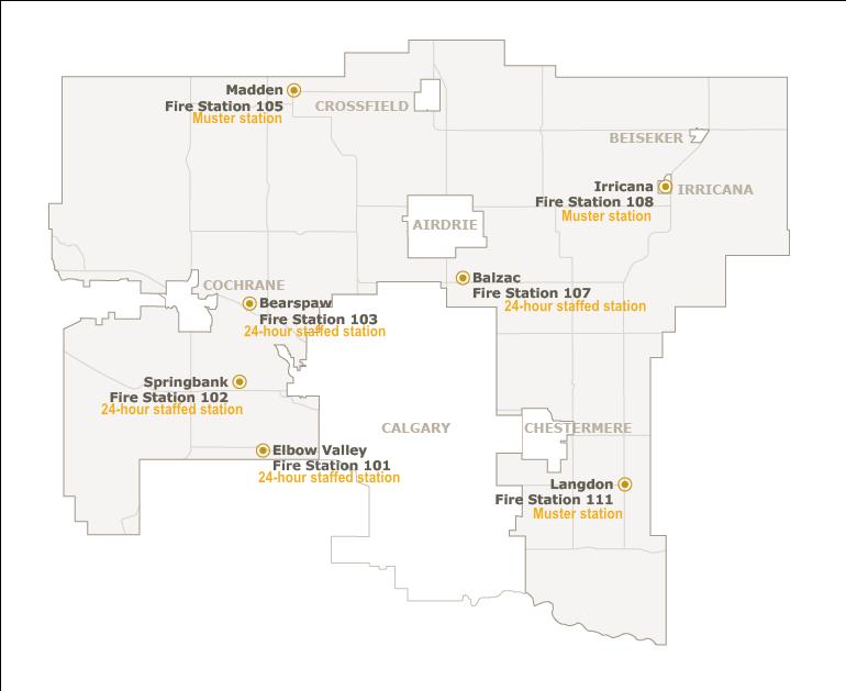 RVCFFA Fire Station Map