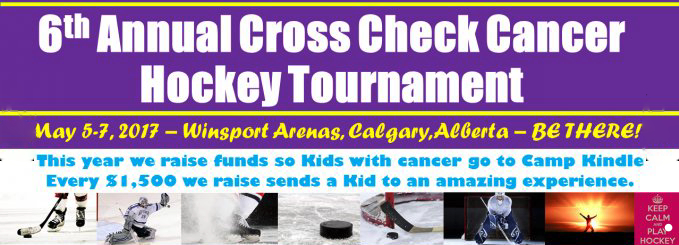 Annual Cross Check Cancer Hockey Tournament